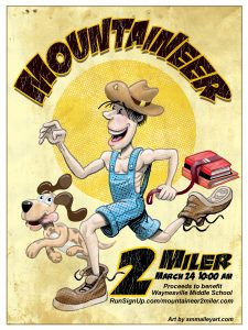 Mountaineer 2 Miler @ Waynesville Middle School | Waynesville | North Carolina | United States