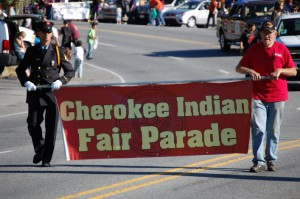 Cherokee Indian Fair Parade