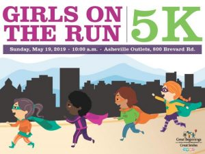 Girls on the Run of WNC 5K - Spring @ Asheville Outlets