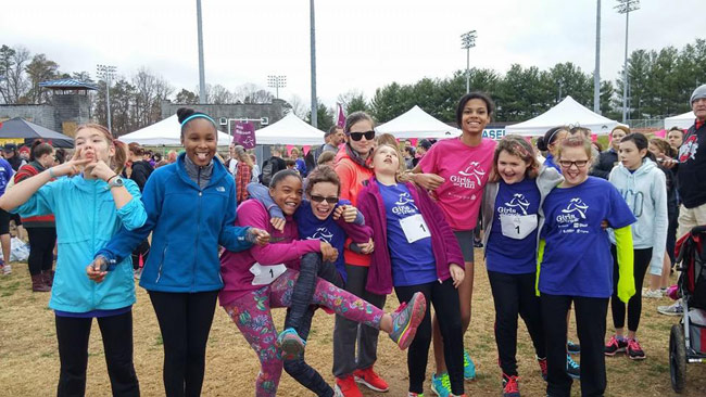 Girls on the Run Race